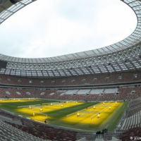 O Estádio Olímpico Lujniki, um dos que receberá partidas da Copa