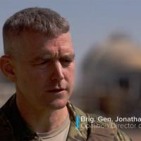General US Army Jonathan Braga, chefe de operações da coligação/coalizão anti-Daesh/EI, liderada pelos Estados Unidos.