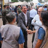 Foto: Ascom/MD e Reynesson Damasceno/ACNUR