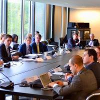 Grupos de trabalho interagências tanto dos Estados Unidos como do Brasiul em Washington DC. Foto CIP