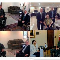Comandante do Exército recebe pré-candidatos