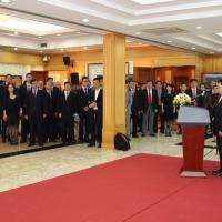 Cerimônia realizada na Embaixada da República Popular da China