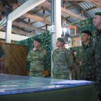 A 1ª Bda C Mec e a Brigada de Monte XII, do Exército Argentino, realizam, no período de 10 a 14 de setembro, no Centro de Adestramento Sul e no 29º BIB, o Exercício de Estado-Maior (Simulação de Combate) Operação GUARANI 2018.