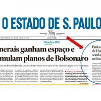 A pedido do ex-presidente Lula, sigla tenta aproximação com chefes das Forças Armadas