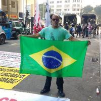Welington Moreira de Carvalho, preso pela PF sob acusação de promover terrorismo, alega que era colaborador da Agência Brasileira de Inteligência (ABIN) Foto: ARQUIVO PESSOAL