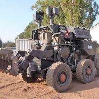 Sistema de detecção de dispositivo explosivo da linha SAHAR instalado em veículo LR-II (Crédito: IAI)