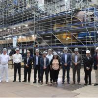 No CNI, os argentinos conheceram o PROSUB, tendo a oportunidade de ver de perto o Submarino