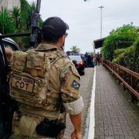Na movimentação do presidente eleito Jair Bolsonaro, no dia 02NOV2018 um pesado sistema de segurança foi empregado, inclusive com agentes especiais do COT da Polícia Federal.