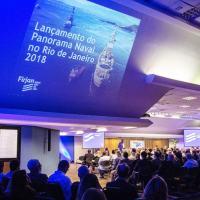 Apresentação  do Panorama Naval 2018 da FIRJAN. Foto - Paula Johas/FIRJAN