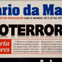 AGROTERRORISMO  - ABIN alerta os produtores do Brasil