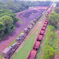 Na Operação Grão-Pará III, o 24º BIS transportou sua tropa e suas viaturas pela Estrada de Ferro Carajás, entre Marabá- PA e São Luís- MA. O percurso foi de aprox 850 Km e tornou-se um excelente treinamento logístico. @gen_paulosergio Comando Militar do Norte