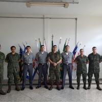 Militares da MB que concluíram o Curso de Guerra Cibernética