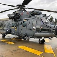Recebimento da Aeronave Super Cougar N-7203 (UH-15A)
