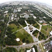 Vista aérea da Universidade de São Paulo. Foto - USP