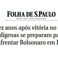 CORREDOR TRIPLO A: Indígenas se preparam para enfrentar Bolsonaro em RR