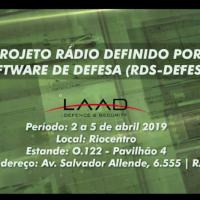 CTEx - Apresenta Projeto Rádio Definido por Software de Defesa na LAAD 2019