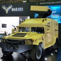 O Armadillo TA-2, exclusivo sistema lançador de foguetes,  foi desenvolvido e patenteado pela empresa brasileira e será produzido no país Foto - DefesaNet