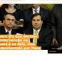Caso  interessante é o do presidente da Câmara que agiu rápido tentando impedir qualquer ação brasileira na Venezuela. Ação aplaudida pela máquina de propaganda de Moscou
