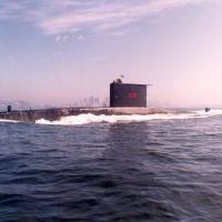 Submarino S-30 Tupi Classe IKL 209-1400 da Marinha do Brasil, adquirido da Alemanha nos anos 80.