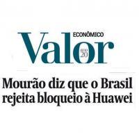 Mourao - Brasil descarta vetar presença da Huawei em 5G