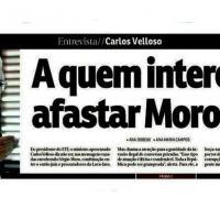 Carlos Velloso, ex-presidente do STF, diz que hackers são criminosos e que aqueles a favor de um país sem corrupção querem Moro no Ministério da Justiça