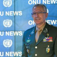 Comandante da Monusco, general Elias Rodrigues Martins Filho.