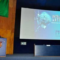 Almirante de Esquadra (Ref-FN) Alvaro Augusto Dias Monteiro, Presidente do CEPE-MB, realizou a abertura do evento