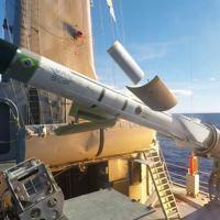 Momento do lançamentodo MANSUP a bordo da F44