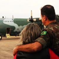 3ªDE - Militares partem para a Operação Acolhida - Contingente Encouraçado Fotos Sd Henckes e Sd Marques