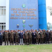 Sede da Centro Conjunto de Operações de Paz do Brasil (CCOPAB) no Rio de Janeiro.