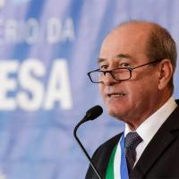 Ministro da Defesa  Gen Ex Fernando Azevedo