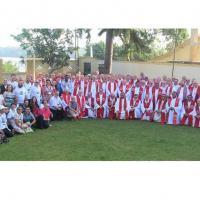 Bispos católicos brasileiros que vão ao Sínodo na Amazônia se reúnem em Belém Foto: REPAM/Rede Eclesial Pan-amazônica