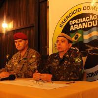 BR-AR: Operação Arandu 2019 integra Exércitos Brasileiro e Argentino em Santa Maria