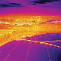 Imagens termográficas podem ajudar a evitar e extinguir focos de incêndio em florestas e áreas de preservação