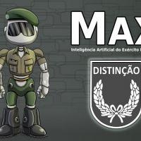 MAX o Avatar da inteligência Artificial do Exército Brasileiro