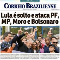 Capa do jornal Correio Braziuliense