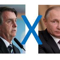Jair Bolsonaro e Vladimir Putin travam um jogo de xadrez metiiculoso sobre o tabuleiro da América Latina