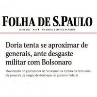 Movimento de governador de SP ocorre na esteira da demissão de generais de cargos de destaque do governo federa