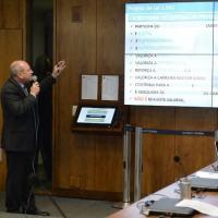 Ministro da Defesa profere palestra em audiência pública sobre o PL nº 1.645/2019