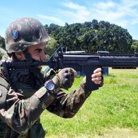 CAEx avalia capacidade operacional do fuzil de assalto 7,62mm IA2 com tropa paraquedista