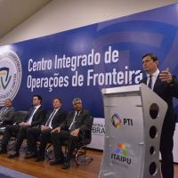 Foz do Iguaçu recebe o primeiro Centro Integrado para combater o crime organizado nas fronteiras Modelo inédito no país, centro permitirá atuação integrada entre as instituições