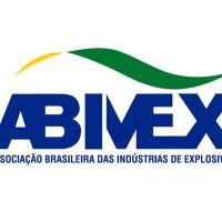 Novo logo da Associação Brasileira das Indústrias de Materiais Explosivos e Agregados (ABIMEX).