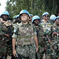 Editorial DefesaNet - General Santos Cruz: A derrota e a vitória de uma verdadeiro estadista. General Santos Cruz quando Comandante da MONUSCO - (Congo)