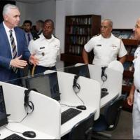 BR-US: Governo dos EUA reinaugura laboratório de ensino de inglês na Escola Naval do Rio US Consulate Rio de Janeiro