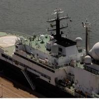"""Nota CCSM - Navio de Pesquisa Oceanográfico russo """"Yantar"""""""