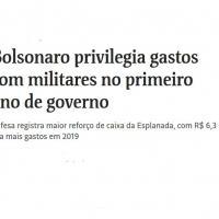 Defesa registra maior reforço de caixa da Esplanada, com R$ 6,3 bi a mais gastos em 2019