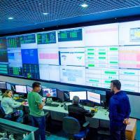 Sala de Situação, do Banco do Brasil, em Brasília: instituição foi alvo de ação de hackers que tentaram invadir seus sistemas  Foto: Ana Carolina Moraes Melo/BB