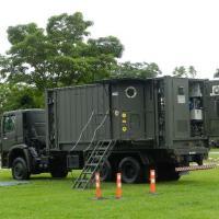 Laboratório móvel químico e biológico do Exército