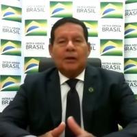 No 'Estadão Live Talks', vice-presidente Hamilton Mourão critica ministro da Saúde e diz que ele e Bolsonaro precisam resolver divergências 'intramuros' e não via imprensa