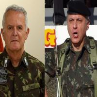 Gen Ex Miotto passa o Comando Militar do Sul para o Gen Ex Valério Stumpf neste quinta-feira (30ABR2020).